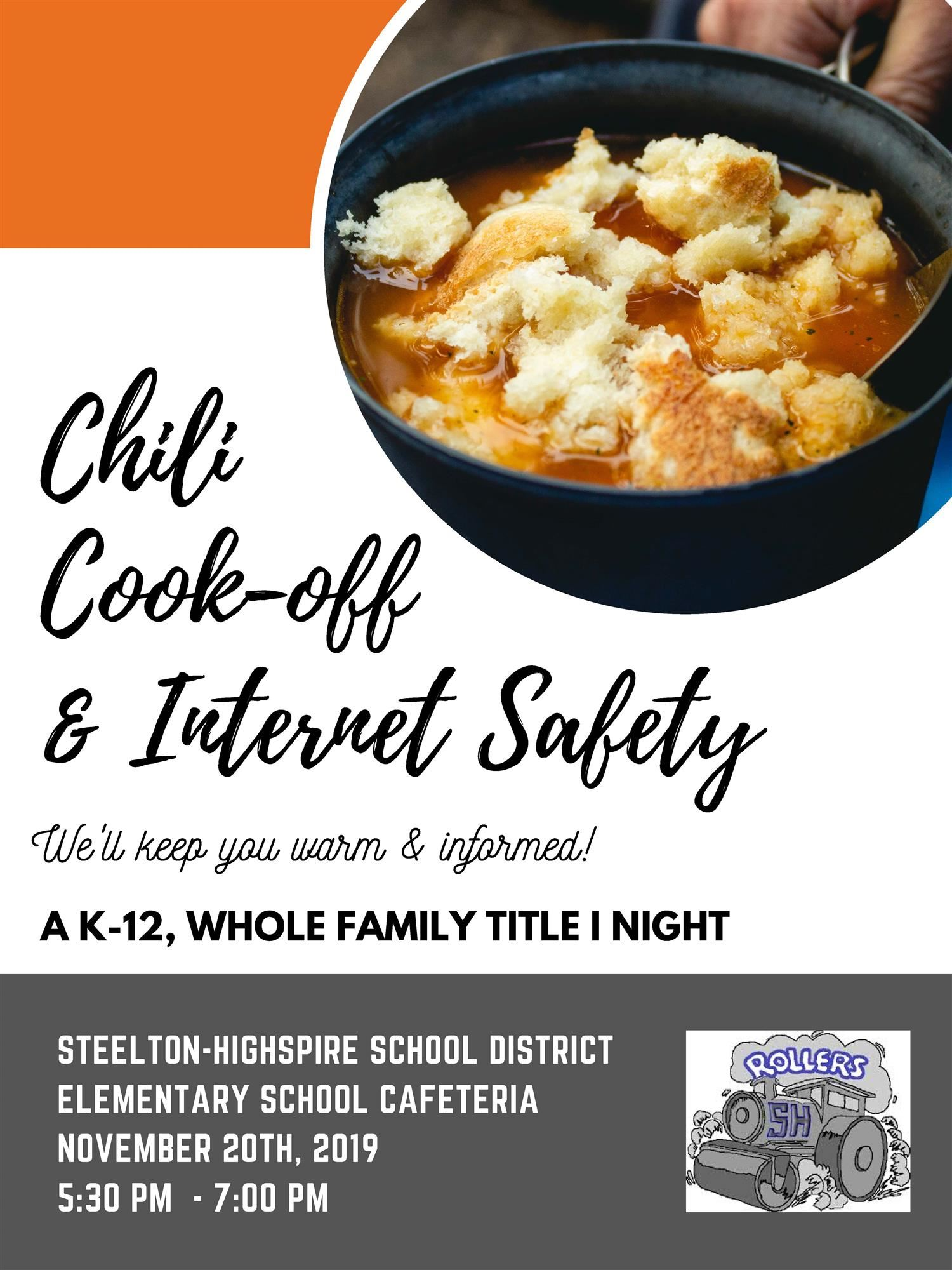Chili Cookoff Title 1 Night