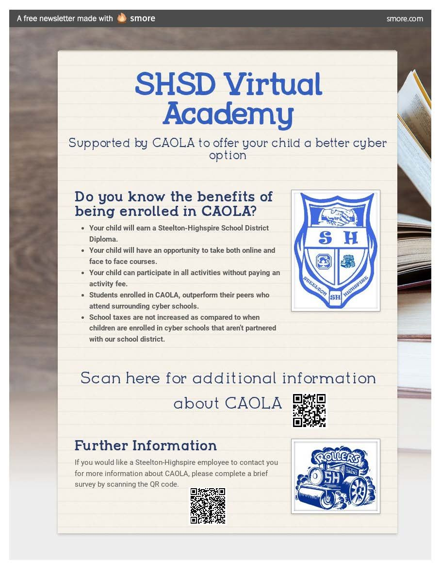 Steelton-Highspire School District Virtual Learning